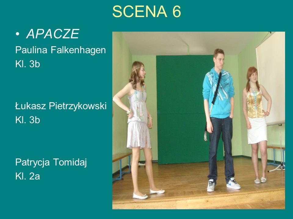 SCENA 7 COOL UCZNIOWIE W roli cool-uczennicy – Klaudia Nowak W roli cool-ucznia – Mateusz Chojnacki