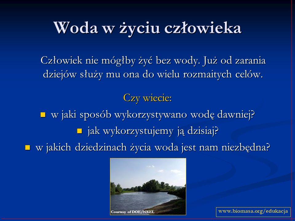 Rodzaje elektrowni wodnych Do turbin wodnych, pracujących we wszystkich elektrowniach wodnych można doprowadzać wodę na wiele różnych sposobów.