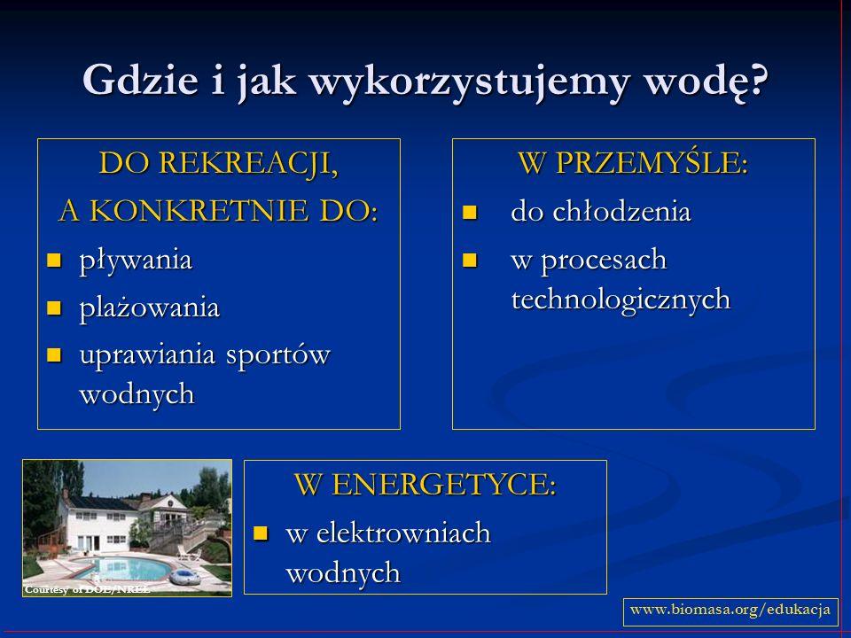Zalety elektrowni wodnych Zalety wszystkich elektrowni wodnych to: łatwość gromadzenia zapasów energii, łatwość gromadzenia zapasów energii, długi okres eksploatacji elektrowni.
