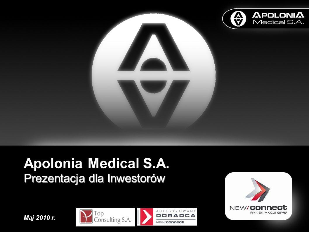 Apolonia Medical S.A. Prezentacja dla Inwestorów Maj 2010 r.