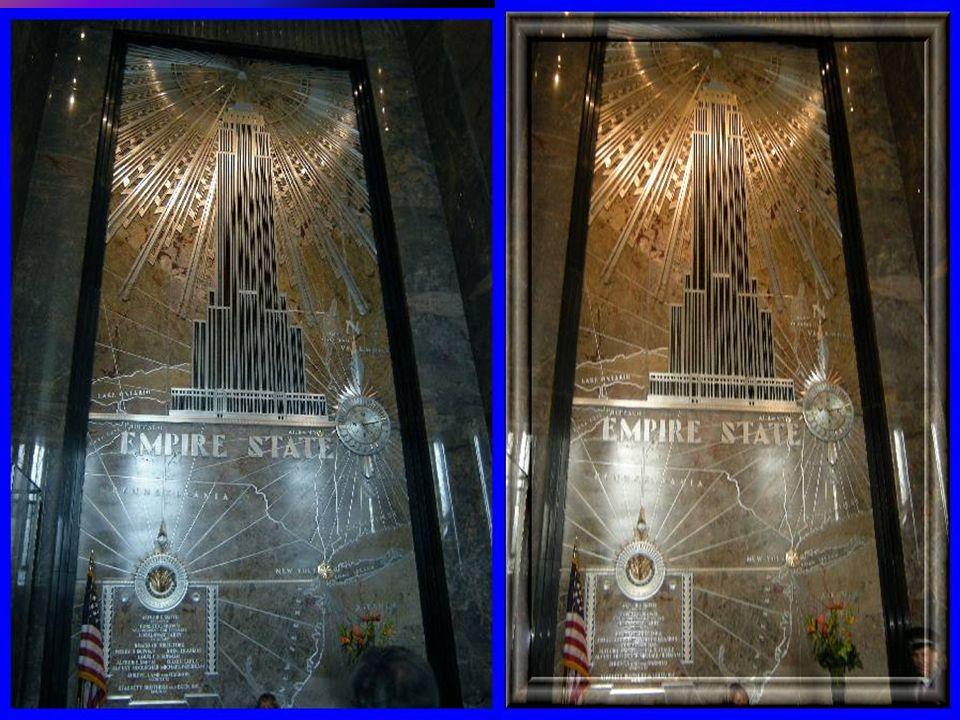 Empire State Building. Powstał w 1931 roku. Budynek ma 102 kondygnacje i 381 m.wysokości. w czasie kryzysu ponad połowa spośród 186 tysm2 nie maiła na