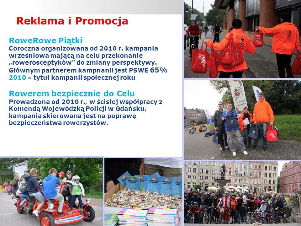 DOBRE PRAKTYKI RÓWNOWAŻENIA TRANSPORTU W WOJEWÓDZTWIE POMORSKIM, GDYNIA 16.11.2012 Infrastruktura Drogowa Instalacja stojaków rowerowych na plaży (zainstalowano 43 platformy łącznie 172 stojaki rowerowe) Wydanie broszury informacyjnej na temat nowych przepisów rowerowych i zasad bezpieczeństwa wraz z mapą gdańskich dróg rowerowych (rozdano 165 000 broszur) Poprawa infrastruktury nadmorskiej ścieżki rowerowej (poprawa oświetlenia, oznakowanie poziome, ławeczki itp.)