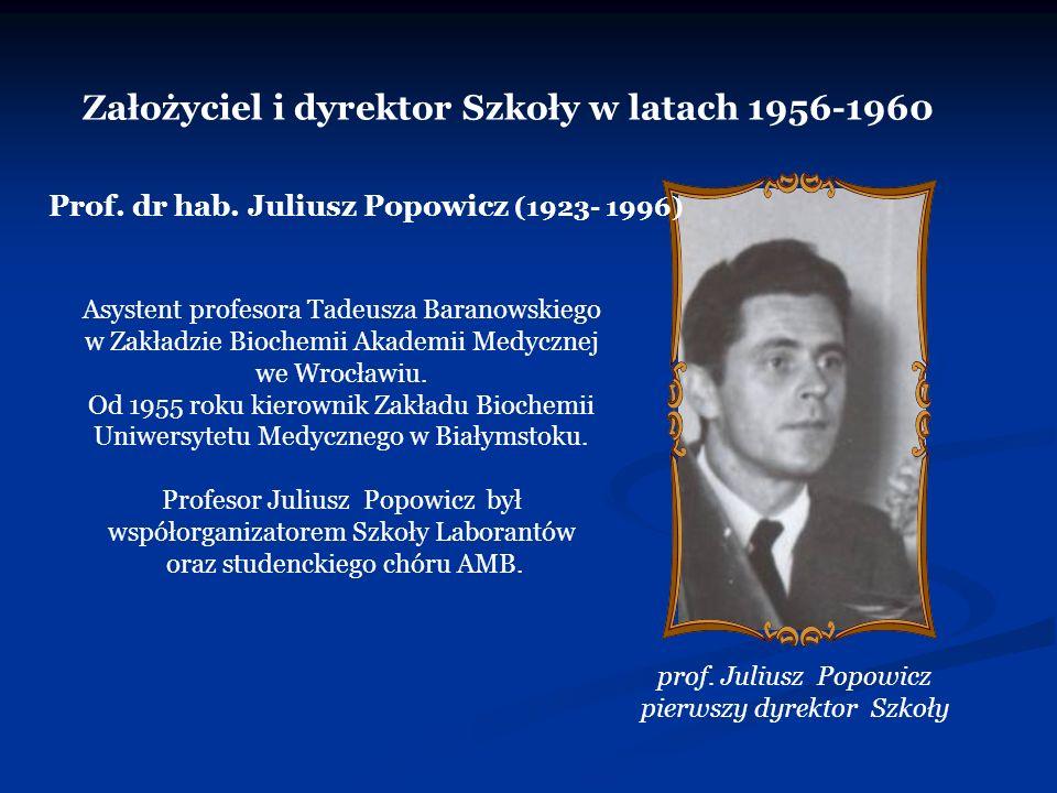 Szkoła Policealna Nr 1 Ochrony Zdrowia w Białymstoku 15-268 Białystok, ul.