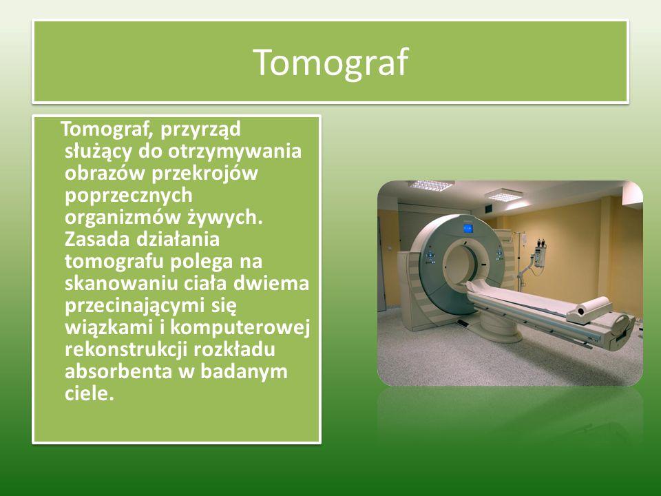 Rezonans magnetyczny Rezonans magnetyczny to rodzaj prześwietlenia, choć z popularnym rentgenem nie ma wiele wspólnego. Pozwala przyjrzeć się narządom