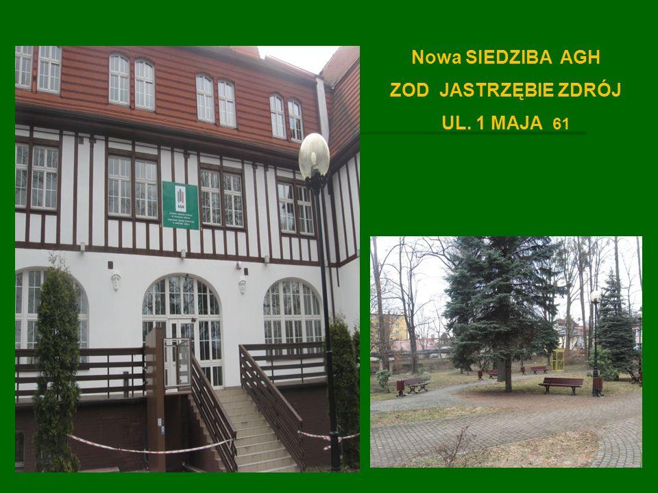 Obecnie siedzib ą Zamiejscowego O ś rodka Dydaktycznego AGH jest budynek przy ul.
