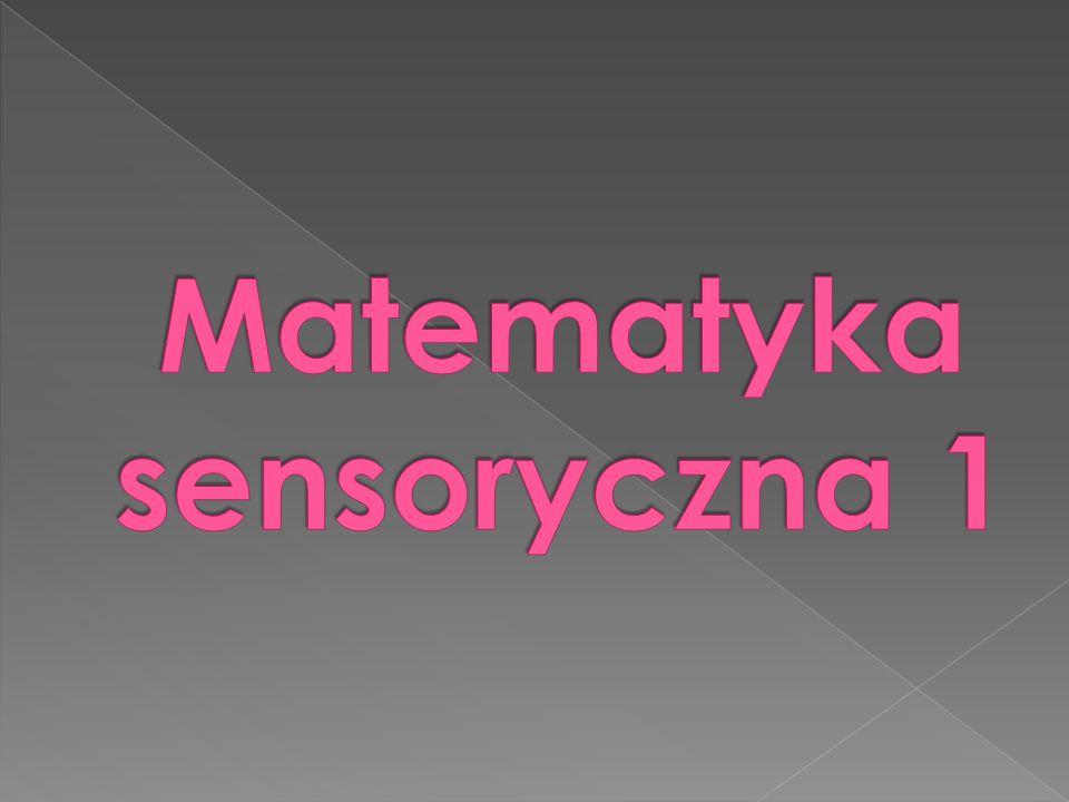 Analiza wzrokowa przedmiotu składającego się z kilku części oraz synteza przedmiotu z figur geometrycznych