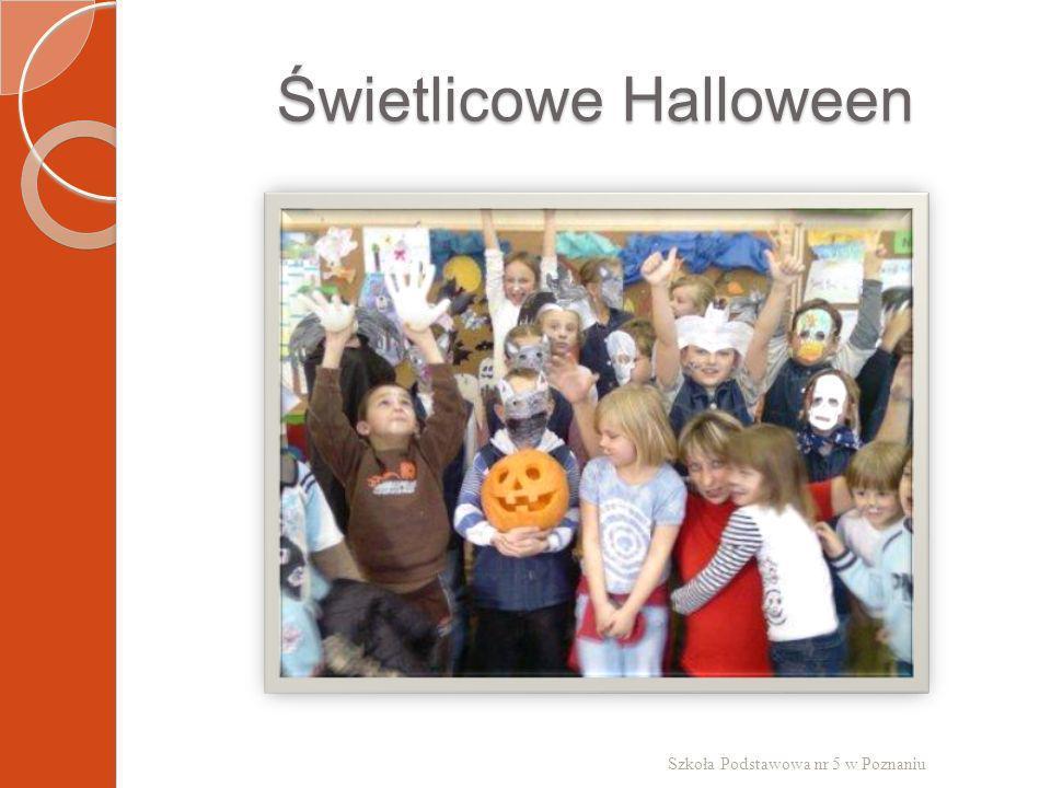Świetlicowe Halloween Szkoła Podstawowa nr 5 w Poznaniu