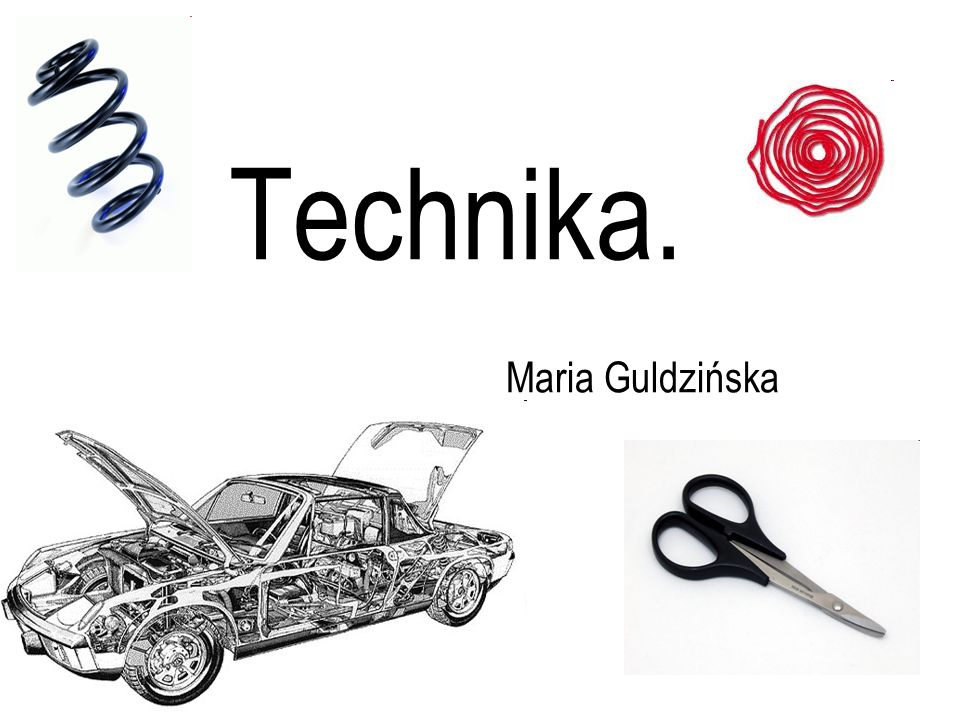 Technika. Maria Guldzińska