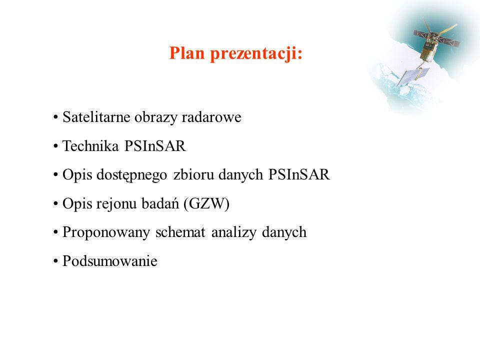 Podsumowanie Technika PSInSAR dostarcza bardzo dokładnych danych dotyczących przemieszczeń terenu.