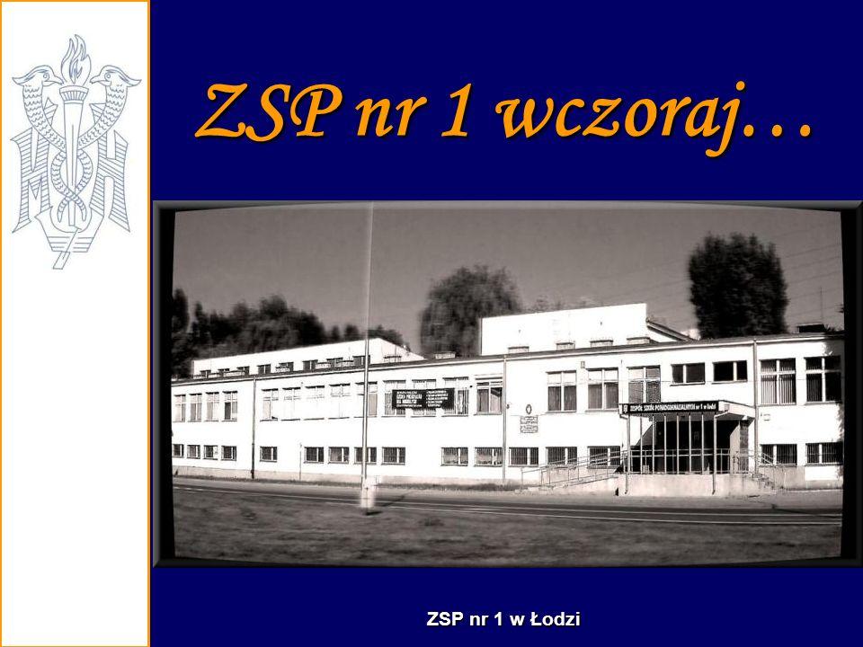 ZSP nr 1 to szkoła, która posiada nowoczesne pracownie przedmiotowe do kształcenia zawodowego...