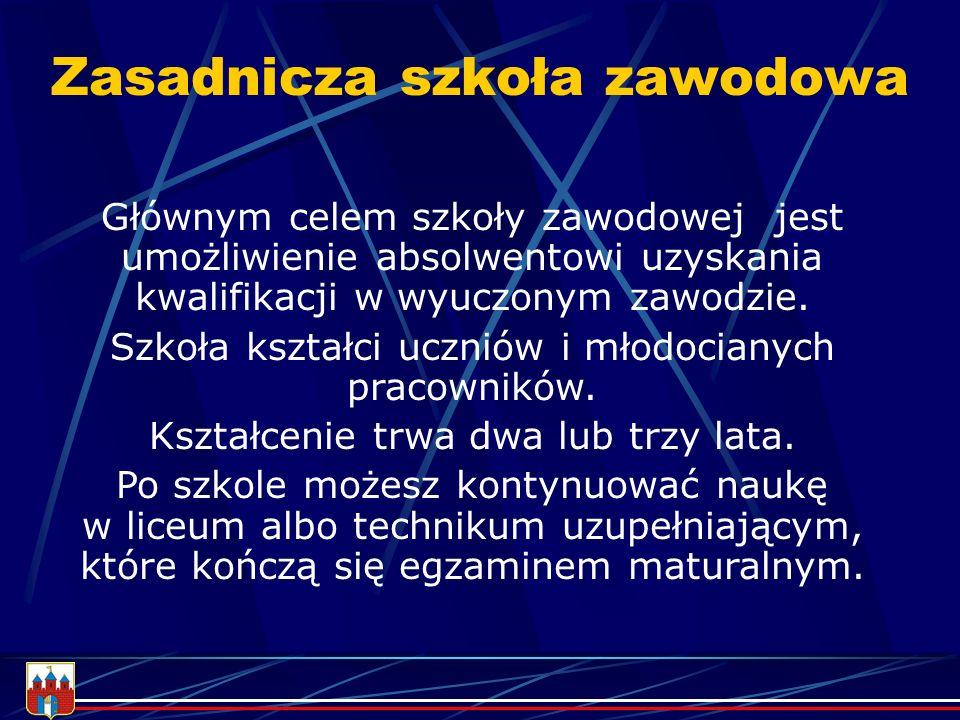 W Bydgoszczy możesz zdobyć tytuł technika : AGROBIZNESU ANALITYKA AWIONIKI BUDOWNICTWA DROGOWNICTWA EKONOMISTY ELEKTRONIKA ELEKTRYKA FOTOTECHNIKA GEODETY HANDLOWCA HOTELARSTWA INFORMATYKA KELNERA KUCHARZA MECHANIKA MECHANIKA LOTNICZEGO OCHRONY ŚRODOWISKA OGRODNIKA POLIGRAFA TECHNOLOGII DREWNA TECHNOLOGII ODZIEŻY TECHNOLOGII ŻYWNOŚCI TELEINFORMATYKA URZĄDZEŃ SANITARNYCH ŻYWIENIA I GOSPODARSTWA DOMOWEGO