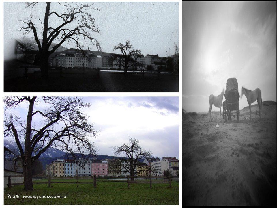 Fotografia otworkowa wymaga zwykle długiego naświetlania - średnio od pół sekundy do kilku godzin, w zależności od fotografowanej scenerii, zastosowanych materiałów oraz konstrukcji aparatu Źródło: www.wyobrazsobie.pl