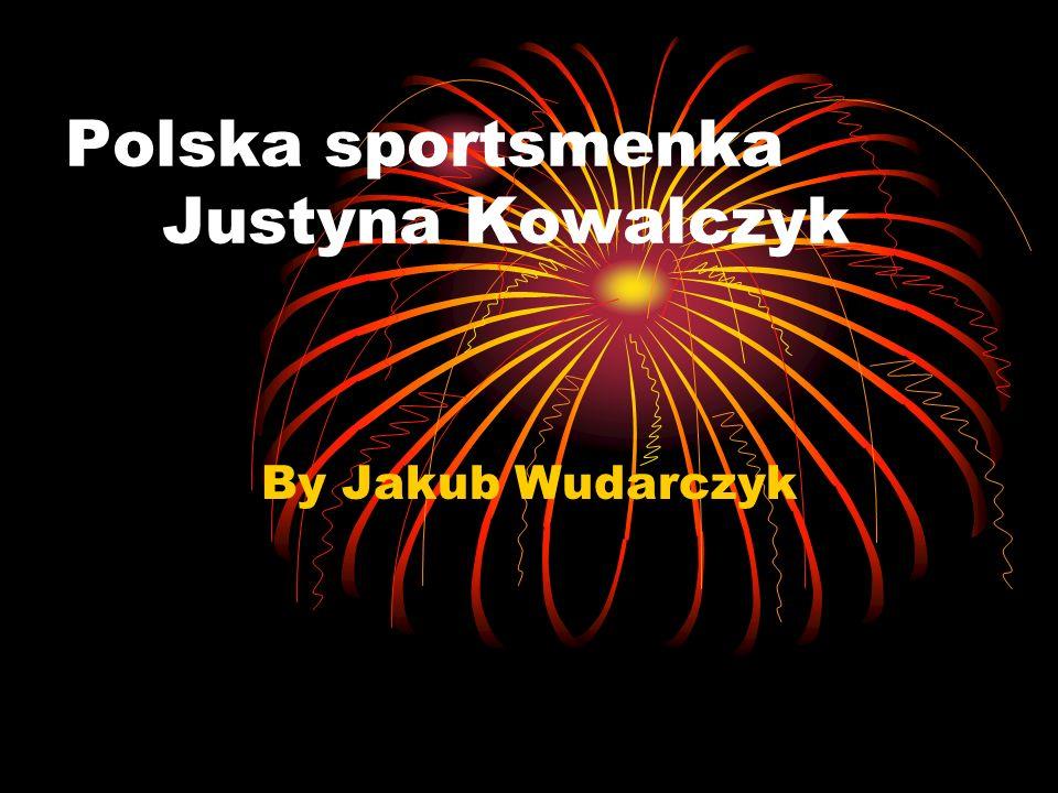 Polska sportsmenka Justyna Kowalczyk By Jakub Wudarczyk