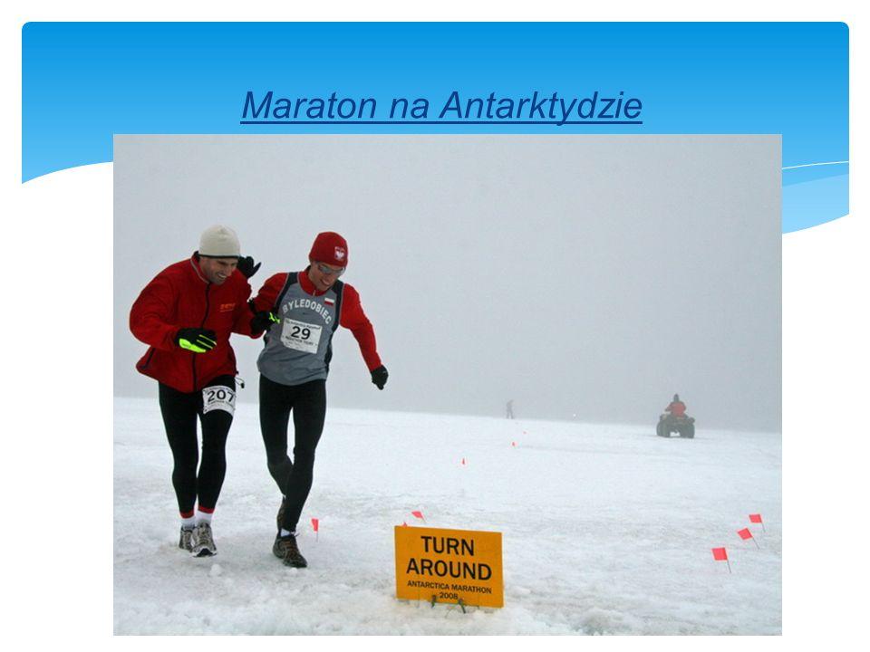 Maraton na Antarktydzie