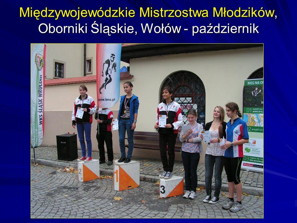 Międzywojewódzkie Mistrzostwa Młodzików, Oborniki Śląskie, Wołów - październik