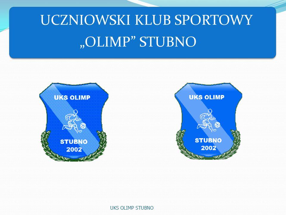 1.Nazwa: UCZNIOWSKI KLUB SPORTOWY OLIMP STUBNO 2.