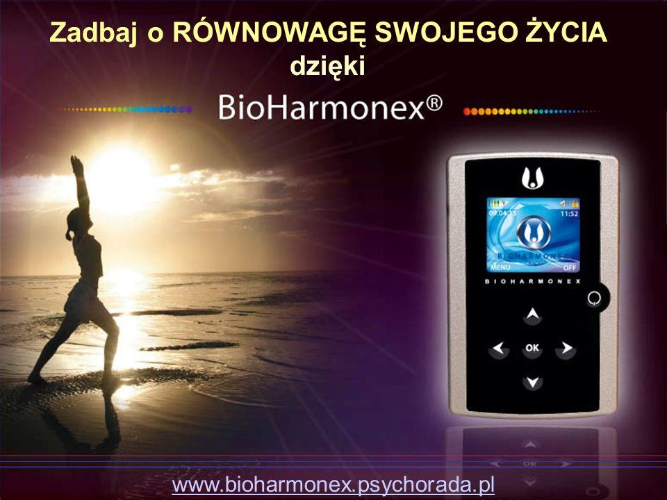 Zadbaj o RÓWNOWAGĘ SWOJEGO ŻYCIA dzięki www.bioharmonex.psychorada.pl