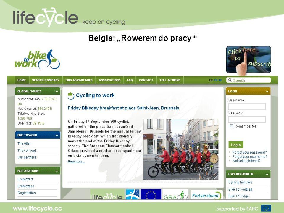 Belgia: Rowerem do pracy