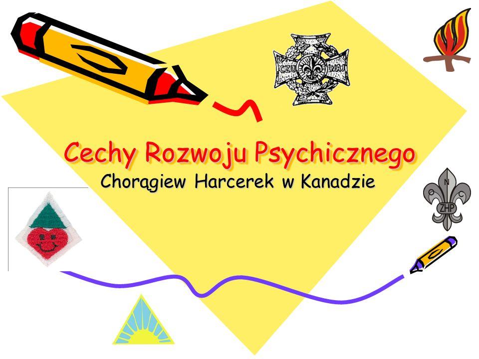Cechy Rozwoju Psychicznego Chorągiew Harcerek w Kanadzie
