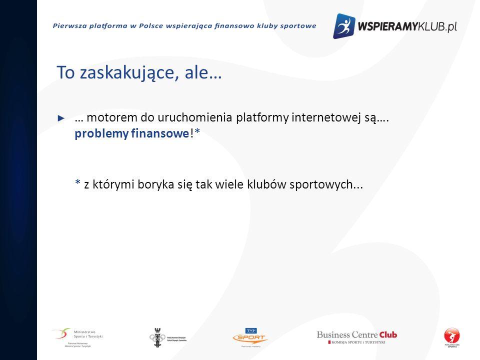 Model funkcjonowania Model funkcjonowania platformy wspieramyklub.pl został przedstawiony wielu osobom oraz organizacjom związanym ze sportem… …dzięki tym spotkaniom i zaangażowaniu zbudowaliśmy grono naszych Patronów i Partnerów.