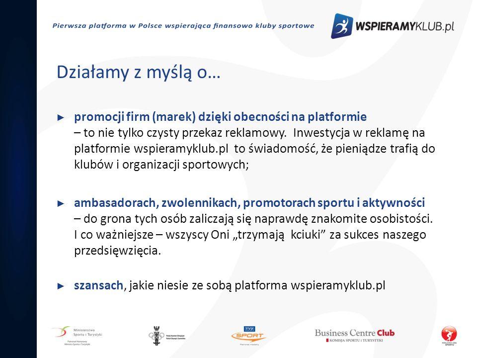 Działamy z myślą o… promocji firm (marek) dzięki obecności na platformie – to nie tylko czysty przekaz reklamowy. Inwestycja w reklamę na platformie w