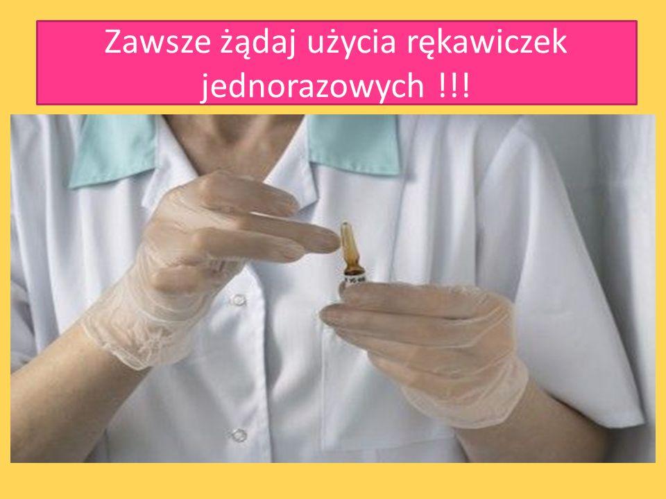 Zapobieganie Rękawiczki jednorazowe Dezynfekcja i sterylizacja urządzeń wielokrotnego użytku. Prezerwatywa Stosowanie osobistych przyborów kosmetyczny