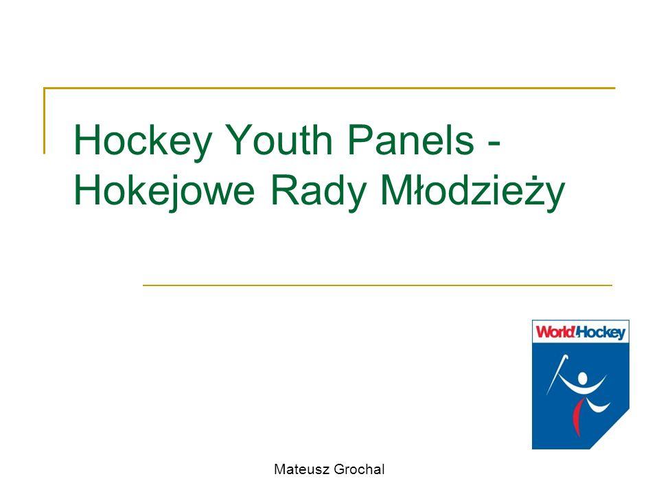 Hockey Youth Panels - Hokejowe Rady Młodzieży Mateusz Grochal