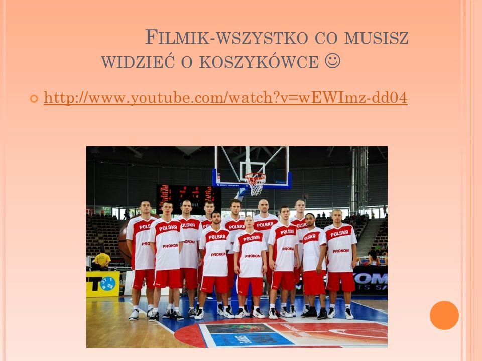 F ILMIK - WSZYSTKO CO MUSISZ WIDZIEĆ O KOSZYKÓWCE http://www.youtube.com/watch?v=wEWImz-dd04