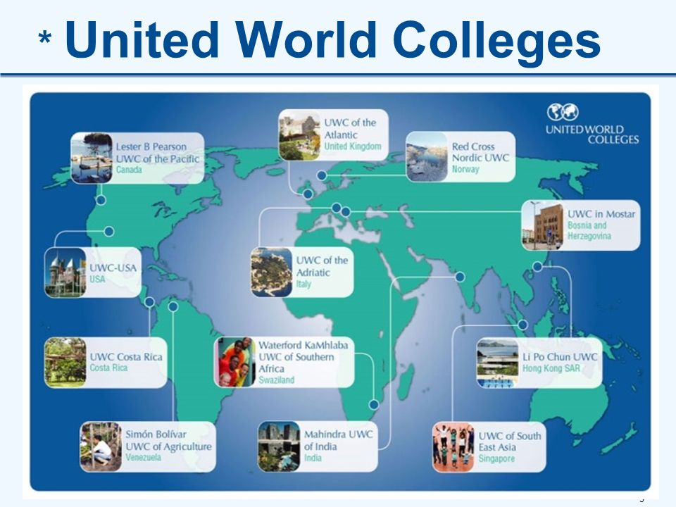 5 * United World Colleges