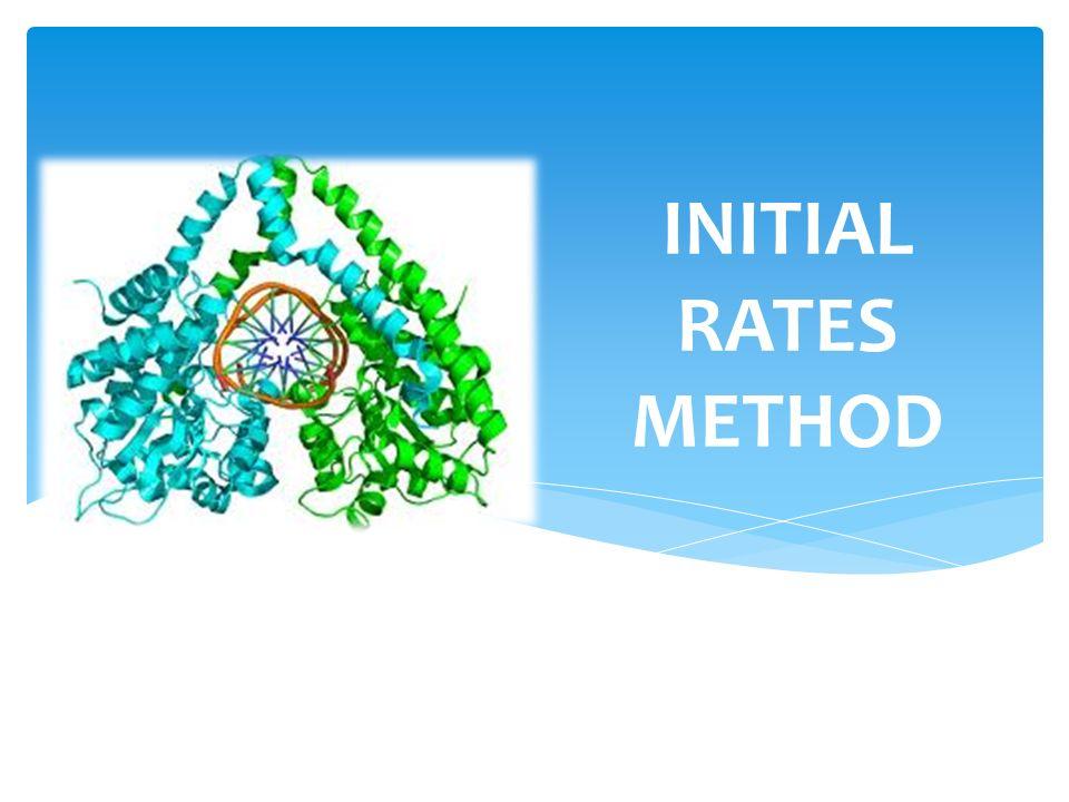 INITIAL RATES METHOD