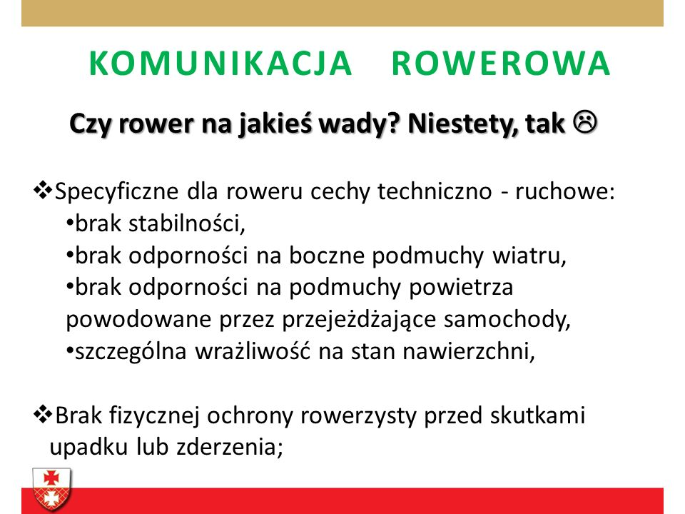 KOMUNIKACJA ROWEROWA 3.