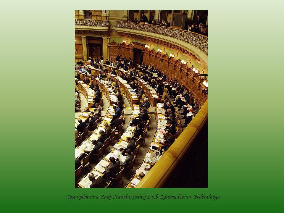 Posiedzenie Rady Kantonów