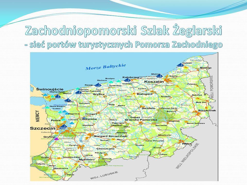 Rozwój konkurencyjnego produktu turystyki wodnej w Polsce poprzez budowę i modernizację portów i przystani żeglarskich Pomorza Zachodniego, Rozwój gospodarki turystycznej Pomorza Zachodniego i aktywizacja gospodarcza poszczególnych miejscowości na trasie Zachodniopomorskiego Szlaku Żeglarskiego, tworzenie nowych miejsc pracy związanych z obsługa ruchu turystycznego, Wzmocnienie roli turystyki wodnej i możliwości uprawiania sportów wodnych na w Polsce północno – zachodniej i w regionie polsko – niemieckiego pogranicza, a tym samym zbudowanie silnego markowego produktu turystycznego w Polsce, odznaczającego się niezachwianą pozycją i wysoką niezależnością w funkcjonowaniu w warunkach gospodarki rynkowej,