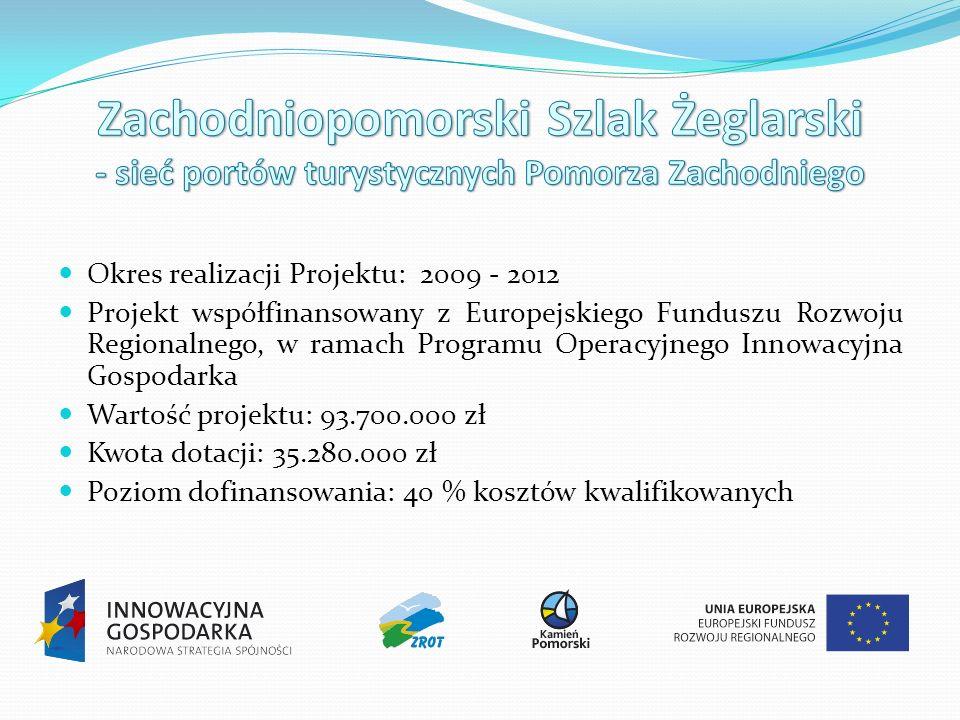 Okres realizacji Projektu: 2009 - 2012 Projekt współfinansowany z Europejskiego Funduszu Rozwoju Regionalnego, w ramach Programu Operacyjnego Innowacyjna Gospodarka Wartość projektu: 93.700.000 zł Kwota dotacji: 35.280.000 zł Poziom dofinansowania: 40 % kosztów kwalifikowanych