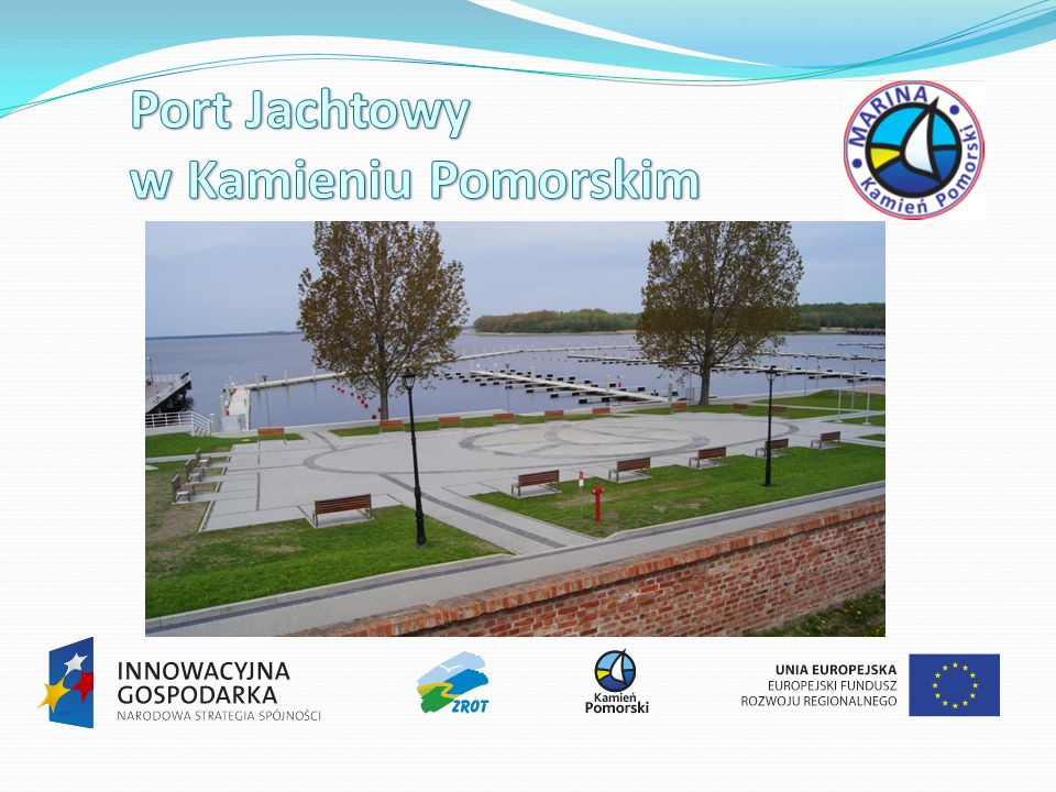 240 nowych miejsc postojowych dla łodzi, Pogłębienie terenu portu do głębokości 2,5 m i zaplecza technicznego portu do głębokości 3,5 m, Bezpośredni dostępem do wody i prądu na pomostach cumowniczych (36 postumentów) 2 nowe budynki zaplecza portu (powierzchnia: 823 m2), Nowoczesne, wyposażone zaplecze sanitarne i socjalne (toalety, natryski, kuchnia, pralnia)