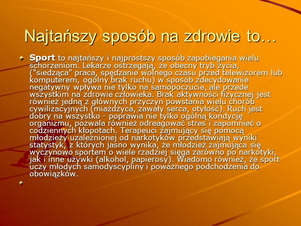 Troska o sprawność fizyczną Większość dorosłych Polaków (61%) co najmniej sporadycznie bierze udział w zajęciach służących sprawności fizycznej - upra