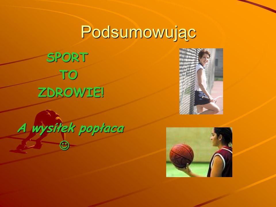 Najtańszy sposób na zdrowie to… Sport to najtańszy i najprostszy sposób zapobiegania wielu schorzeniom. Lekarze ostrzegają, że obecny tryb życia, (