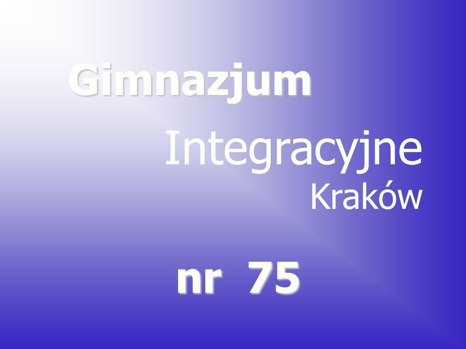 Gimnazjum nr 75 Integracyjne Kraków