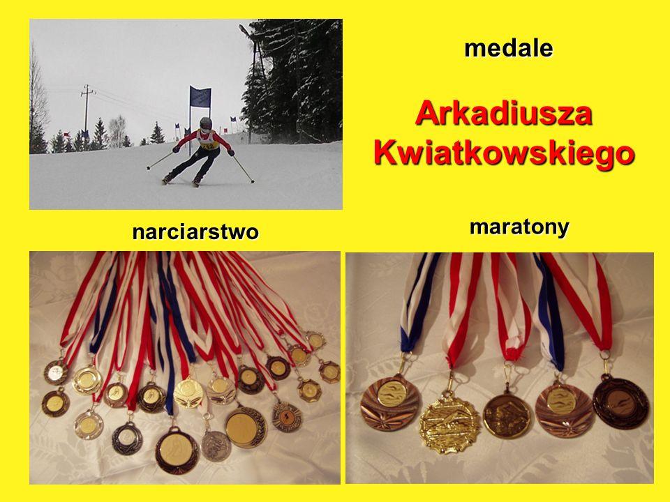 maratony medale Arkadiusza Kwiatkowskiego narciarstwo