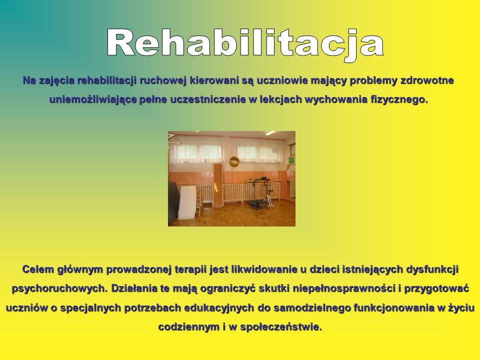 Celem głównym prowadzonej terapii jest likwidowanie u dzieci istniejących dysfunkcji psychoruchowych. Działania te mają ograniczyć skutki niepełnospra