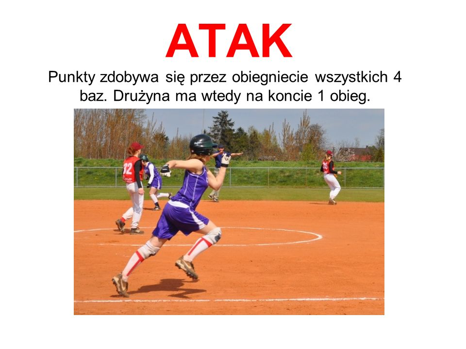 ATAK Zawodniczki z ataku odbijają po kolei; ich celem jest zdobycie jak największej ilości punktów. Zawodniczka na pałce odbija piłkę narzuconą przez