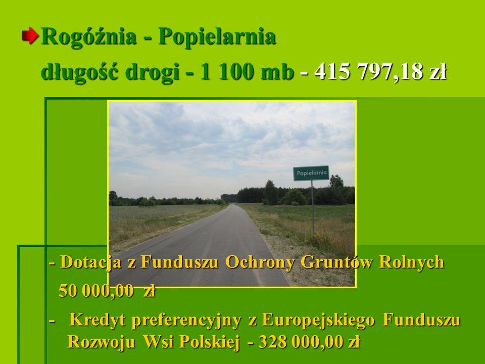 Nowa Osuchowa - Dybki długość drogi - 702 mb - 248 037,63 zł długość drogi - 702 mb - 248 037,63 zł