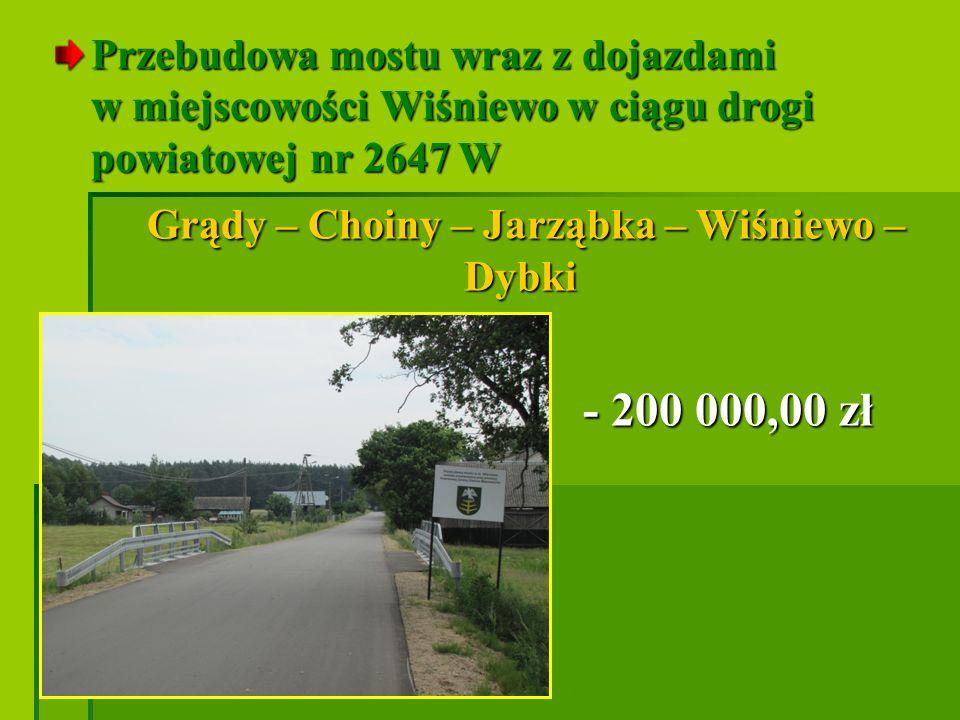 Droga miejska ul.Broniewskiego Droga miejska ul.