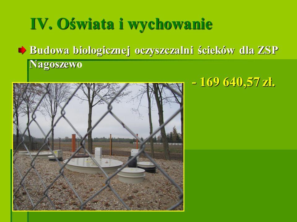 Rozbudowa szkół i budowa hal sportowych w latach 2009 - 2011 w Dybkach: - 733 155,82 zł - hala sportowa wym.