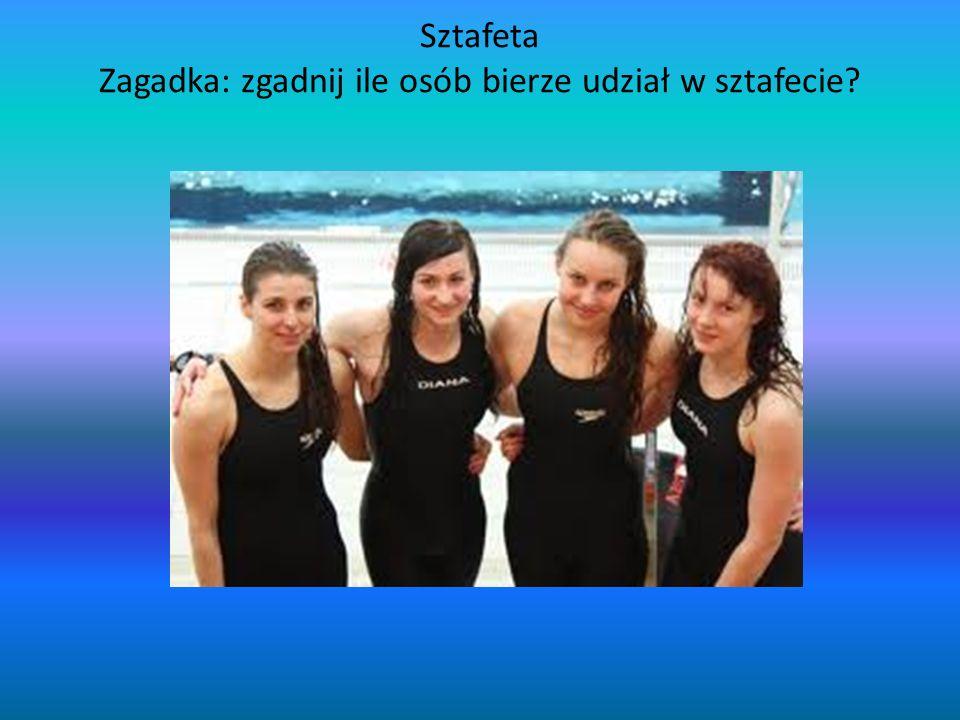 Sztafeta Zagadka: zgadnij ile osób bierze udział w sztafecie?