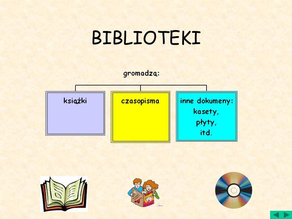 Biblioteka to nie tylko lektury Kto pierwszy wpadł na pomysł gromadzenia książek w jednym miejscu? Osoba ta z cała pewnością miała świadomość, że ksią
