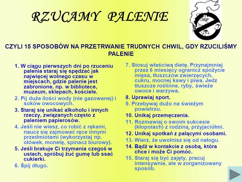 RZUCAMY PALENIE 1.
