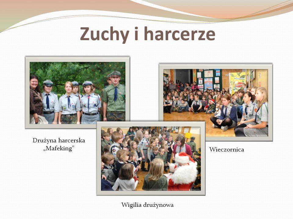 Zuchy i harcerze Wigilia drużynowa Wieczornica Drużyna harcerska Mafeking