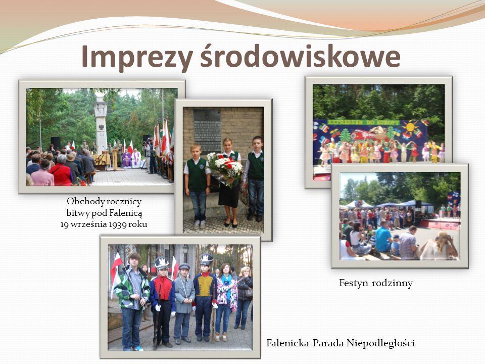 Imprezy środowiskowe Obchody rocznicy bitwy pod Falenicą 19 września 1939 roku Festyn rodzinny Falenicka Parada Niepodległości