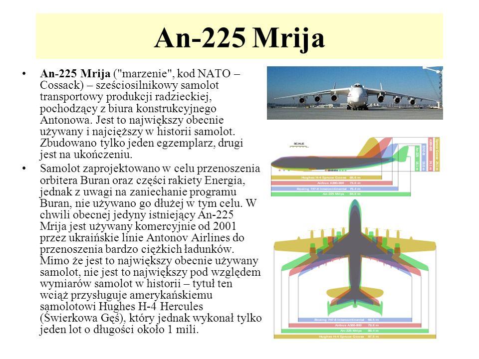 An-225 Mrija An-225 Mrija (